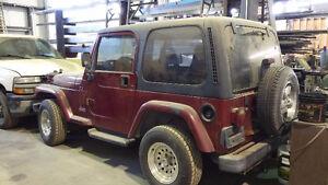 1999 Jeep TJ VUS