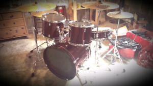 Drum kit for sale.