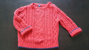 Baby Gap Red Sweater in size 18-24 months