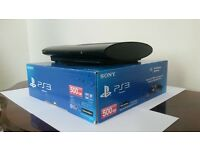 PS3 Super Slim 500GB +11 Games +2 Controllers