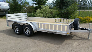 "CHECK THIS OUT! 2017 ALUMINUM TRAILER 82"" X 14'  By Stronghaul"