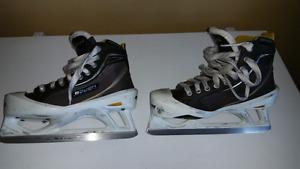 Bauer Supreme goalie skates