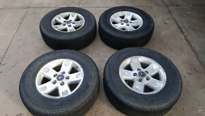 Ford F-150 rims P265/70/R17 M&S Firestone Destination's