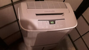 Dehumidifier practically brand new for your large basement