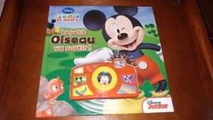 Livre Interactif Mickey Mouse