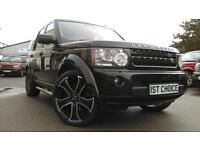 2011 LAND ROVER DISCOVERY 4 SDV6 LANDMARK LE LOW MILEAGE FSH REAL EYEFUL GREAT