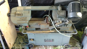 King industrial band saw
