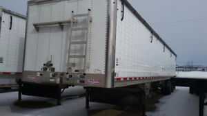 2012 48 ft Wilson Tri-Axle Grain Trailer
