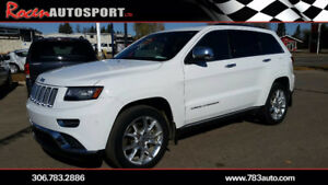 2014 JEEP GRAND CHEROKEE SUMMIT - PST PAID! - 1 RETIRED OWNER!