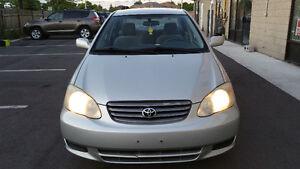 2003 Toyota Corolla CE plus Sedan