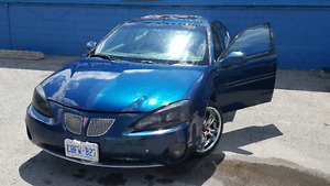 For sale 2005 Pontiac grand prix GT2 in excellent condition.