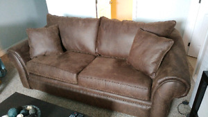 Almost New Couch and Chaise Lounge Chair