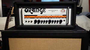 Mint Orange Rockerverb 50 MKII and Mint Orange 4x12 V30's Cab
