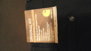 Carhartts  men pants Brand New Double Front.
