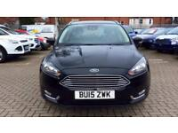 2015 Ford Focus 1.6 125 Titanium (Nav) 5dr Pow Automatic Petrol Estate