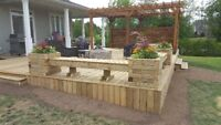 Deck and Fence Construction
