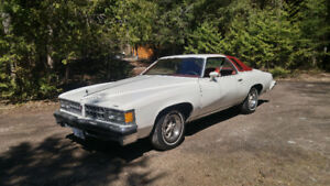 Great Condition 40 Year Old Pontiac