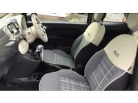 Fiat 500 1.2 Lounge 3dr - Glass Roof F Hatchback Petrol Manual