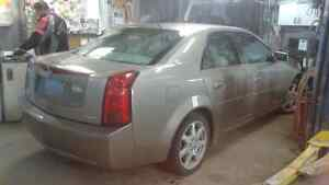 2003 Cadillac CTS beige Berline