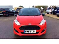 2017 Ford Fiesta 1.0 EcoBoost 140 ST-Line Red 3 Manual Petrol Hatchback