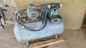 "Air Compressor ""cast iron pump"""