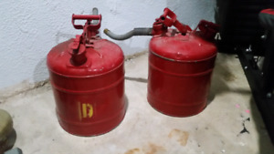 Vintage/ antique  gas tanks