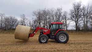 2008 McCormick CX105 w/loader & grapple - only 953 hours!