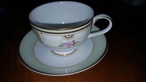Spectacular Royal Doulton bone china cup and saucer