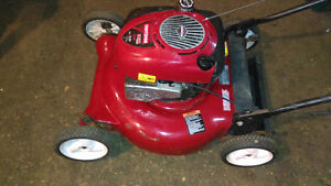 6hp Craftsman Lawnmower - No Bag- Has Side Disharge Attachment