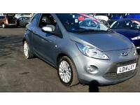 2014 Ford Ka 1.2 Zetec (Start Stop) Manual Petrol Hatchback