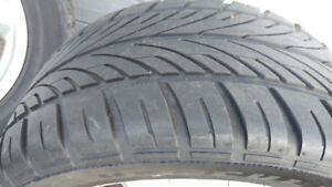 Tires and rims for mustang
