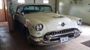 1955 Oldsmobile 88 2 door hard top.