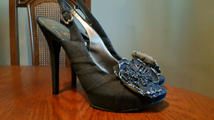 Brand new Guess Denim high heels