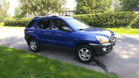 2006 Kia Sportage LX VUS + WINTER TIRE LIKE NEW