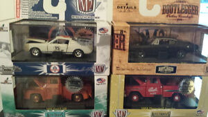 M2 MACHINES 1/64. 4 ITEMS. RARE DIE CAST.
