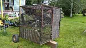 Grosse cage en fer pour animaux