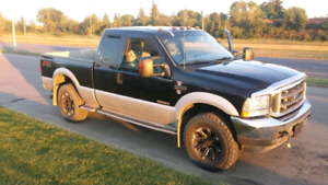 2004 f250 Low km, great shape, diesel