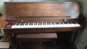 free piano for pick up!