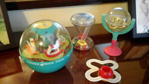 Asst of baby toys