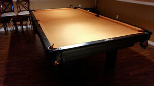 Pool table   official tournament 9 ball