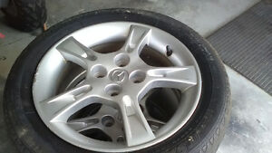 mag mazda protegee  4 trous