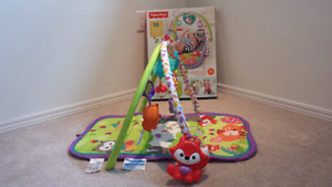 Woodland Friends 3 in 1 musical activity gym