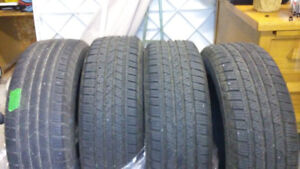 Pneus Continental Cross Contact 225/65 R 17