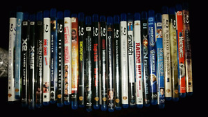 Blue Ray Movies - 26 for $30