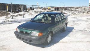 1997 Toyota Tercel Coupé (2 portes)