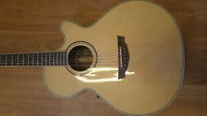 Parkwood electric acoustic guitar new condition.