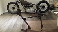 1937 Indian scout front frame section