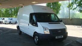 2013 FORD TRANSIT 2.2 TDCI LWB High Roof Van Euro 5