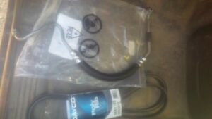 POWERSTEERING HOSE AND BELT FROM 02 DURAMAX