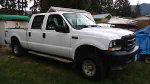 Price drop: 2002 Ford F-250 Super Duty. 4 x4